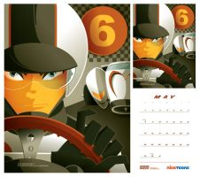 nicktoons: speed racer by strongstuff