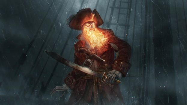 The Demon Pirate LeChuck by boc0