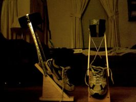 BOTH STILTS FINISHED. :D by Wicked-Wigwam
