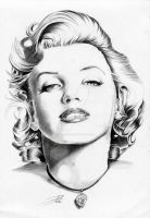 Marilyn by davepinsker