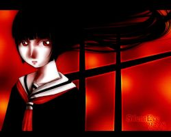 .hell girl. by SilentEve