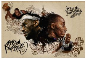 nba playoffs 2009 by kwangki
