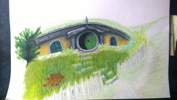 Hobbiton (WIP) by Teriyaqi