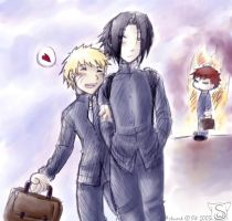 sasunaru for Cheryl AGAIN by sw