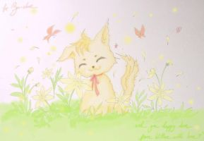 for Byo-chan - happy days by killien