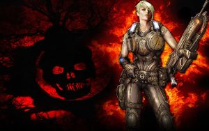Gears of War 3 Anya Wallpaper by IReckLess