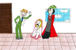 Hellsing with Hats by pitchperfect