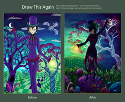 Draw this Again - Dusk Hatter by MaGeXP