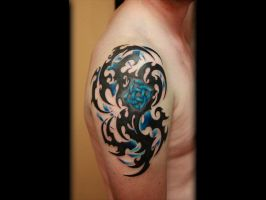 Tribal Knot Tattoo done by Sean Ambrose by seanspoison