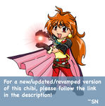 Chibi Lina ::Dragon Slave:: by midwaymilly