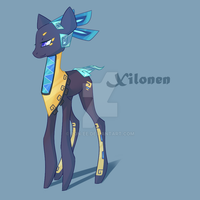 [SOLD]MLP Adoptable Xilonen by StickFigureQueen