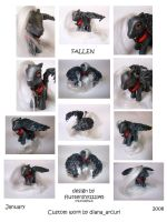 MLP Custom - FALLEN by BlackAngel-Diana