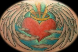 Coloured Angel Heart by n1cKYveysey