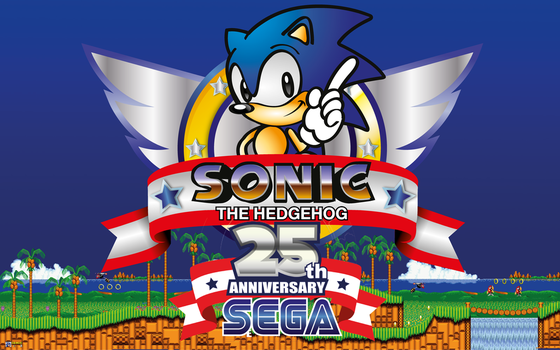 Sonic The Hedgehog 25th Anniversary Tribute by RobertoJOEL1307