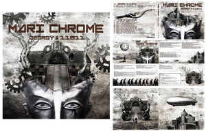 Mari chrome Georgy#11811 CD artworks by SheerHeart