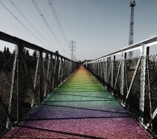 Rainbow Overpass by Licsi