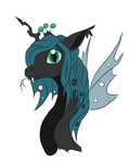 queen chrysalis the snake by holyhell111