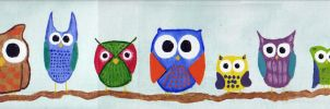 Owls by Tabitha-Habitat