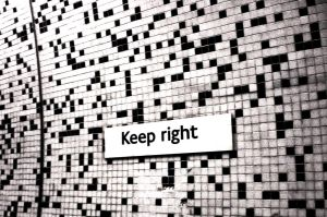 keep right by Ditze