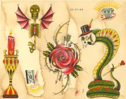 Traditional Oddities by NewColour
