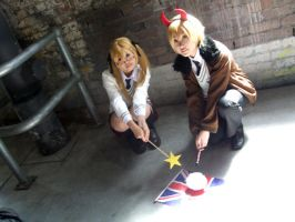 APH - UK the Angel and Daimon by KanI006