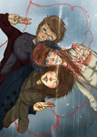 Winter Friends by FrostedShorelines