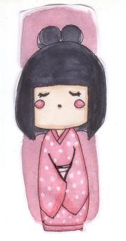 A little kokeshi by syrs