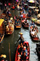 Floating Market by CenkDuzyol