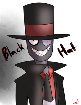 Villainous - Black Hat ( Fanart ) by Kryshoul