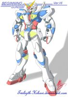 Beginning Gundam Ver.Hi Finish by Twilight-Hikari