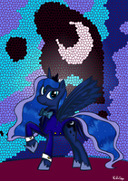 Princess Luna's suit by Voids-Edge
