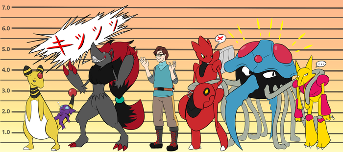 [JOCT] Height Chart by MrTwinklehead