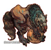 Hati Sticker by dmillustration