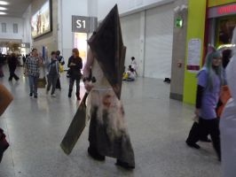 MCM Expo: Pyramid Head by x-sim1-x