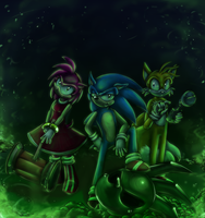 Sonic Art Collection Fan Art Contest Entry by Saphfire321