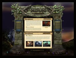 Fantasy Magic Website Template by karsten