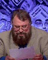 BRIAN BLESSED MOTHERFUCKER by davidmiddleton
