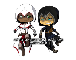 Lil Assassins by Grimmferno
