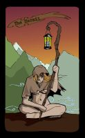 Hermit Tarot by bandeau