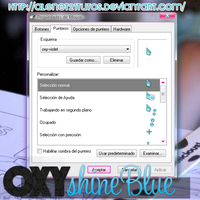 Cursor Shine Blue by alenet21tutos