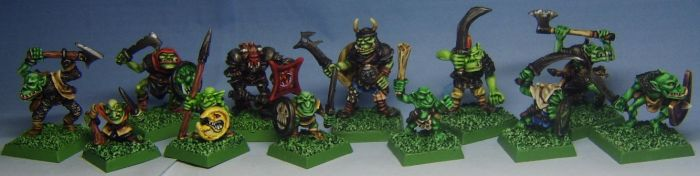 Orcs and Goblins warband by FraterSINISTER