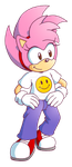 Sonic the Comic : Classic Amy Rose by ThePandamis