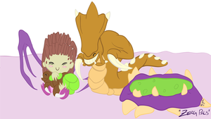 Zerg Pals by xquizit90