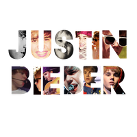 Justin Bieber TEXT png by ImABellieber