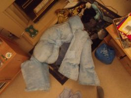 Rainbow Dash body near completion, needs more work by MadHamsterCostumes