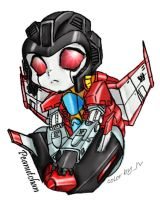 chibi Starscream by jvju