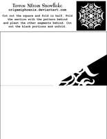Tavros Nitram Snowflake Print-Out by OrigamiPhoenix