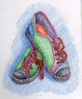 Shoes sketch by twinibird