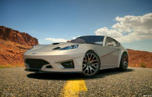 Ford GT-V concept 9 by cipriany