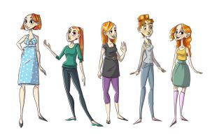 Redheads by iam-holly